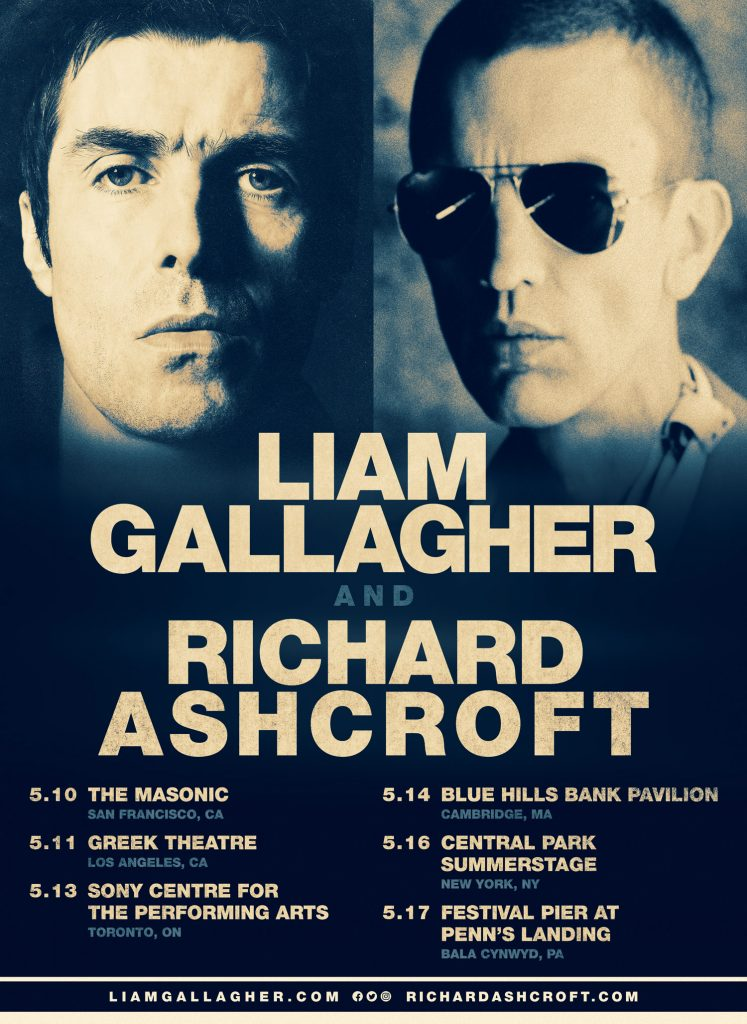 LiamGallagher_RichardAshcroft_TourPoster1