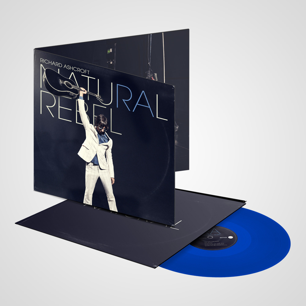 Natural Rebel Blue Vinyl